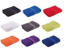 Günstige Handtücher (50 x 100 cm) Marke Sophie Muval (hochwertigem Frottee, 100% Baumwolle, Gewicht 360 g / m2)