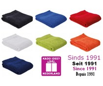 Goedkope sportsjaals (30 x 130 cm) merk Sophie Muval (kwaliteit badstof, 100% katoen, gewicht 360 gr/m2)