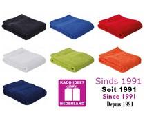 Günstige Sporthalstücher (30 x 130 cm) Marke Sophie Muval (hochwertigem Frottee, 100% Baumwolle, Gewicht 360 g / m2)