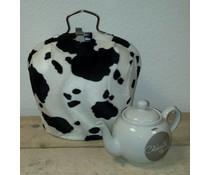 Design Teapot топло (dessin животинска кожа), кожата на животното е естествено имитира и мека!