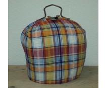 Design Teapot топло (dessin цветни ивици)