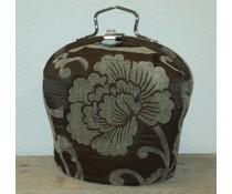 Design Teapot топло (dessin старата кафява със заоблени цифри)