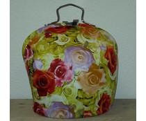 Design Theepot warmer (dessin gekleurde rozen)