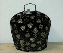Design Teapot топло (dessin черно с блясък)