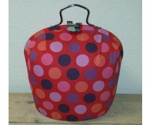 Design Teapot warmer (modern design in the color pink with polka dots)