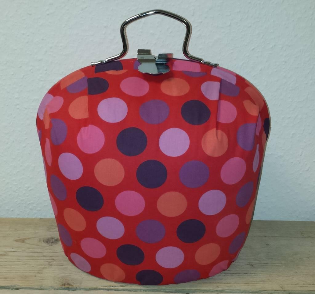 Design Teapot varmere (moderne design i fargen rosa med prikker ...