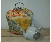 Design Teapot топло (стар заоблен дизайн с цветя)