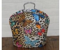NEW! Design Tea Fair (tiger print med smukke farvede sommerfugle)