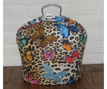 NEW! Design Theebeurs (tiger print with beautiful colorful butterflies)