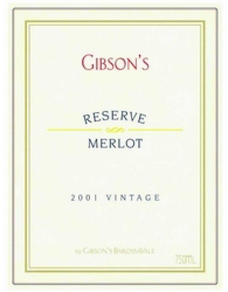 Gibson Wines 2004 Gibson's Merlot Reserve