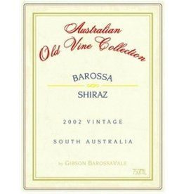 Gibson Wines 2003 Gibsons Shiraz Old Vine Collection