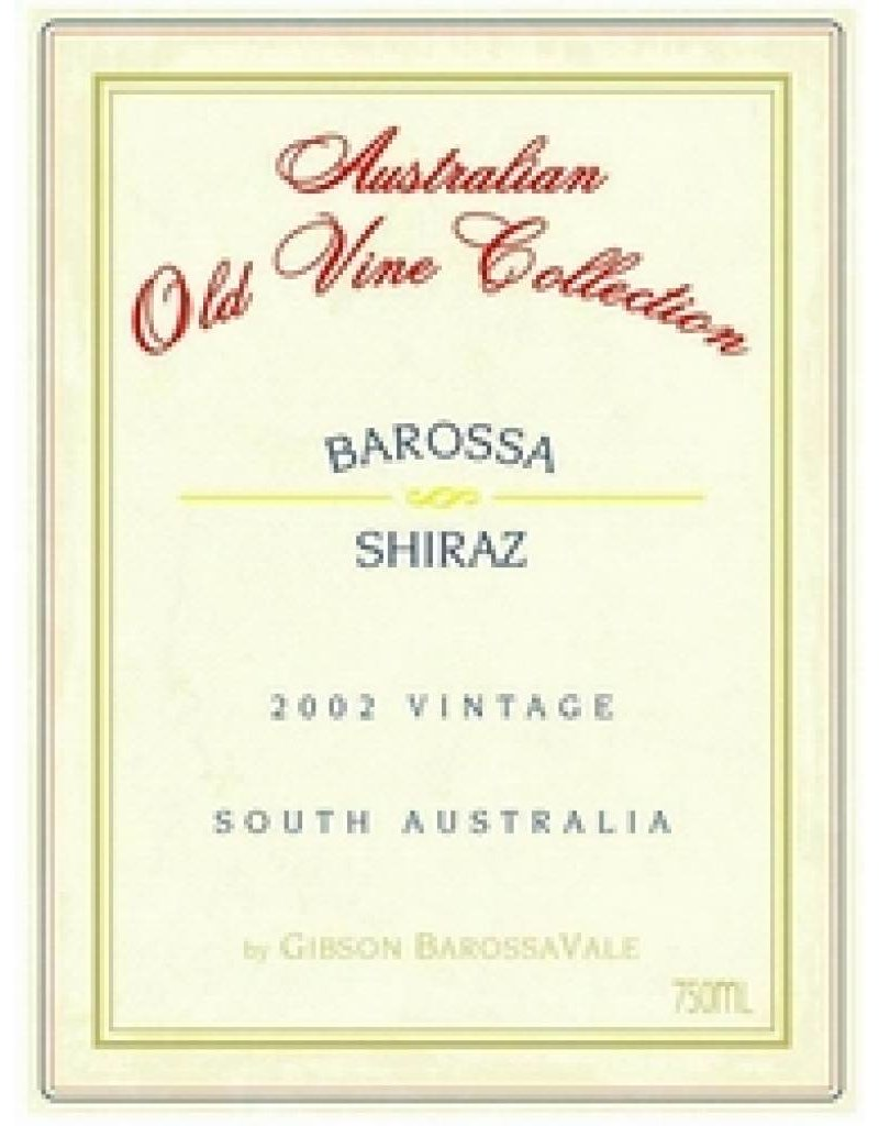 Gibson Wines 2004 Gibson's Shiraz Old Vine Collection