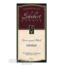 Schubert Estate 2005 Schubert Estate Shiraz Goose-Yard-Block