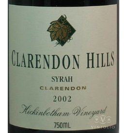 1998 Clarendon Hills Shiraz Hickinbotham
