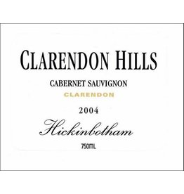 1998 Clarendon Hills Cabernet Sauvignon Hickinbotham