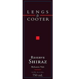 Lengs & Cooter 1998 Lengs & Cooter Shiraz Reserve