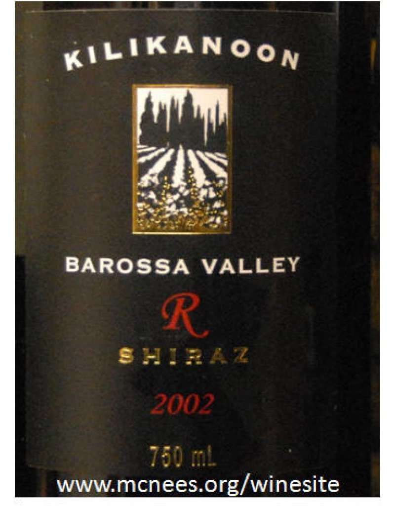 Kilikanoon 2003 Kilikanoon Greens Barossa Reserve Shiraz