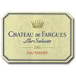 Chateau de Fargues 2005 Chateau de Fargues 375ml fles