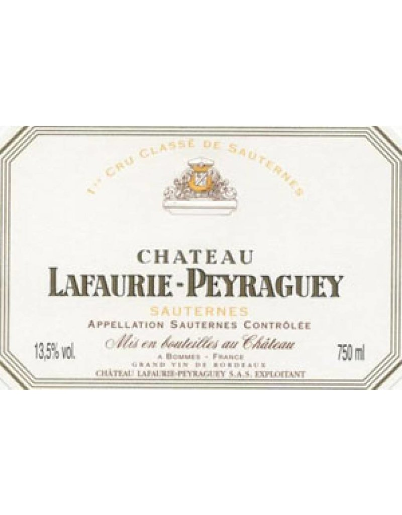 Chateau Lafaurie Peyraguey 1999 Chateau Lafaurie Peyraguey