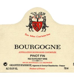 2005 Domaine Geantet-Pansiot Bourgogne Rouge