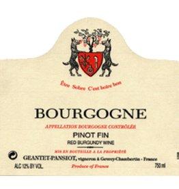 Domaine Geantet-Pansiot 2005 Domaine Geantet-Pansiot Bourgogne Rouge