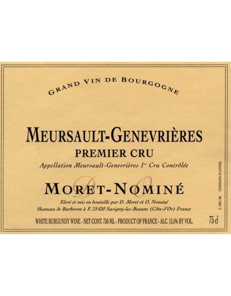 Moret-Nomine 2004 Moret-Nominé Meursault-Genevriéres 1 er Cru