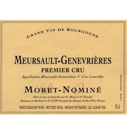 2005 Moret-Nomine Meursault-Genevrieres 1 er Cru