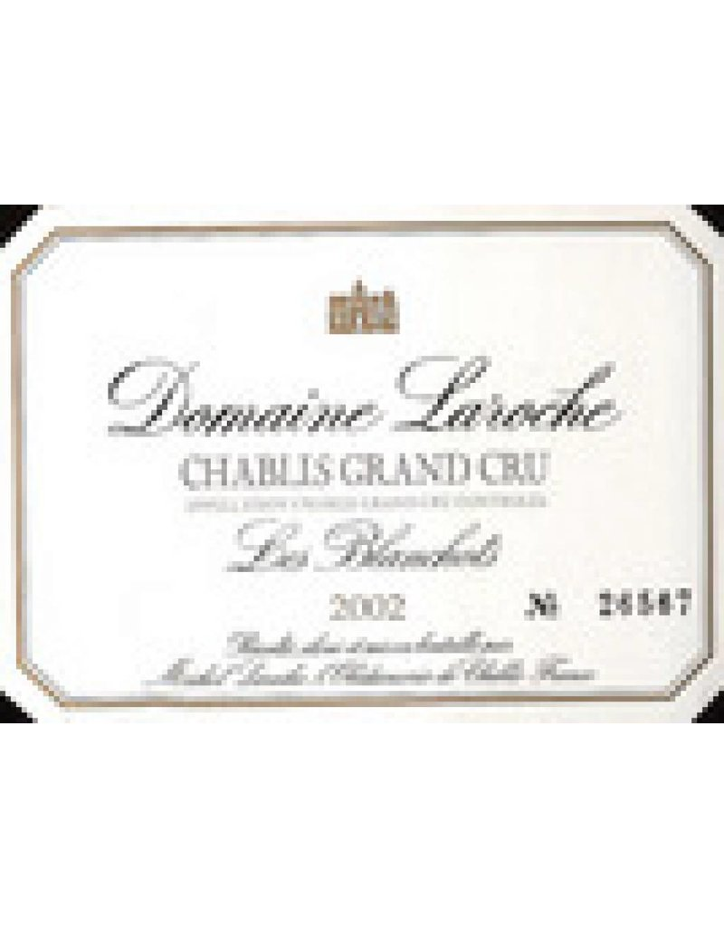 Domaine Laroche Chablis 1997 Domaine Laroche Chablis Blanchots l'Obedience