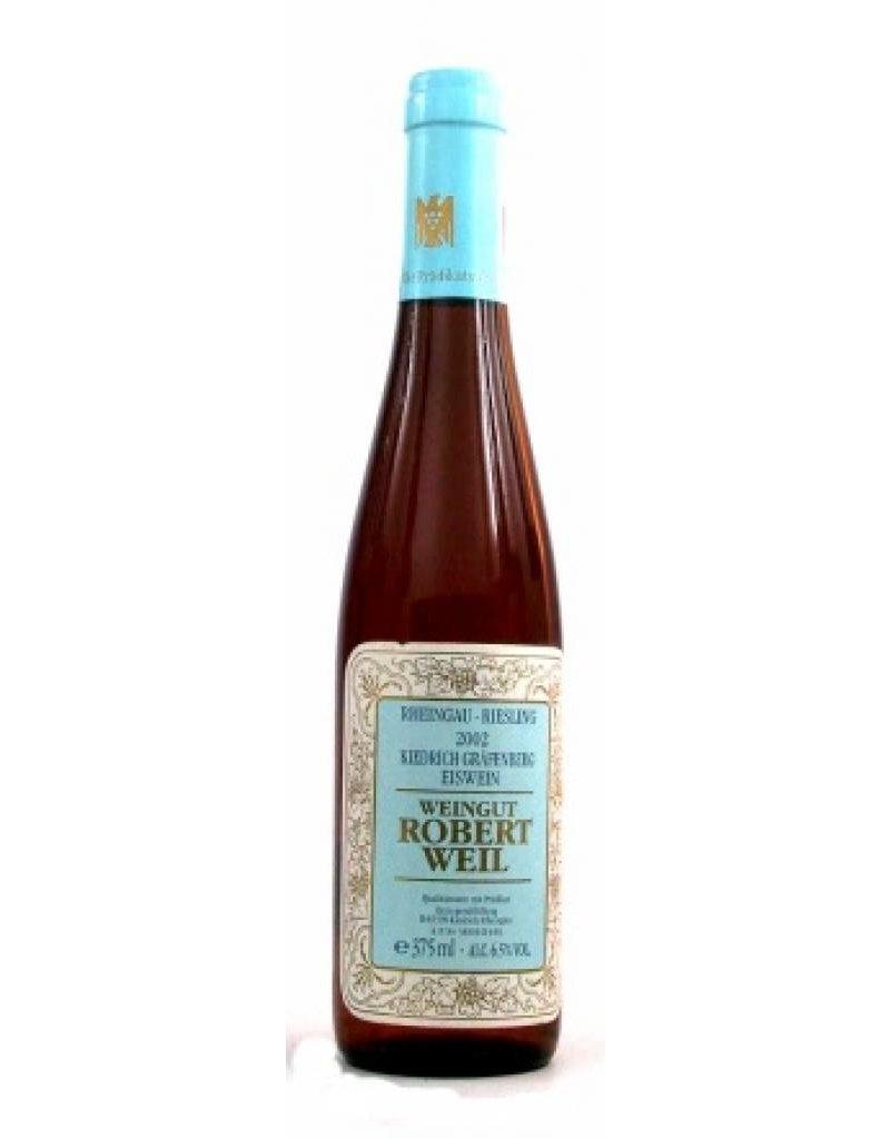 Weingut Robert Weil 2002 Robert Weil Kiedrich Gräfenberg Eiswein 1/2 fles