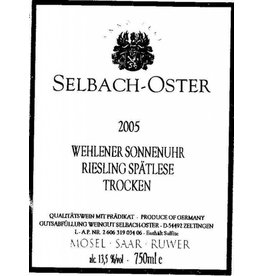 2002 Selbach-Oster Wehlener Sonnenuhr Riesling Spatlese