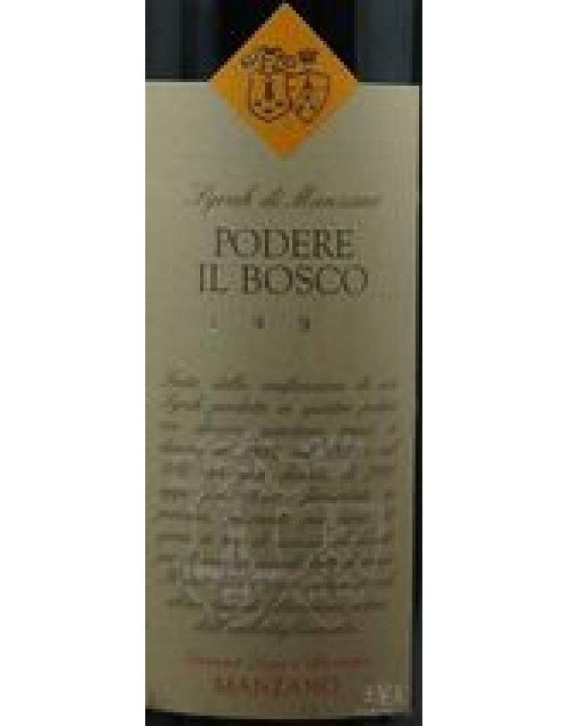 Tenimenti Luigi d'Alessandro 1996 Podere il Bosco Syrah