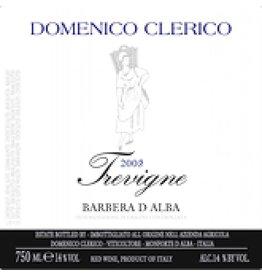 Domenico Clerico 1997 Clerico Trevigne Barbera dAlba