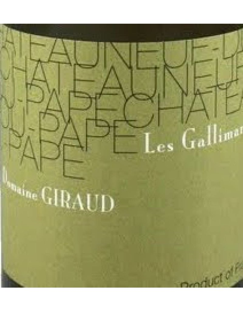 Domaine Giraud 2007 Giraud Chateauneuf-du-Pape Les Gallimardes Blanc