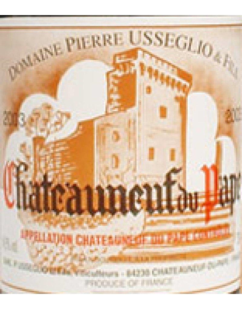 Domaine Pierre Usseglio 2001 Pierre Usseglio Chateauneuf-du-Pape Blanc