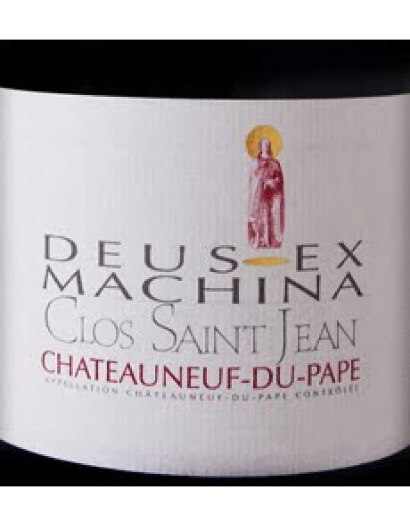 Clos Saint Jean 2006 Clos Saint-Jean Chateauneuf-du-Pape Deus-Ex Machina