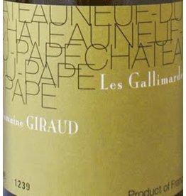 Domaine Giraud 2009 Domaine Giraud Chateauneuf-du-Pape