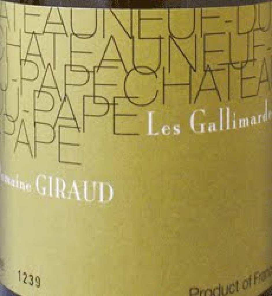 2009 Domaine Giraud Chateauneuf-du-Pape