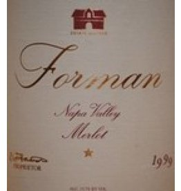 1999 Forman Merlot