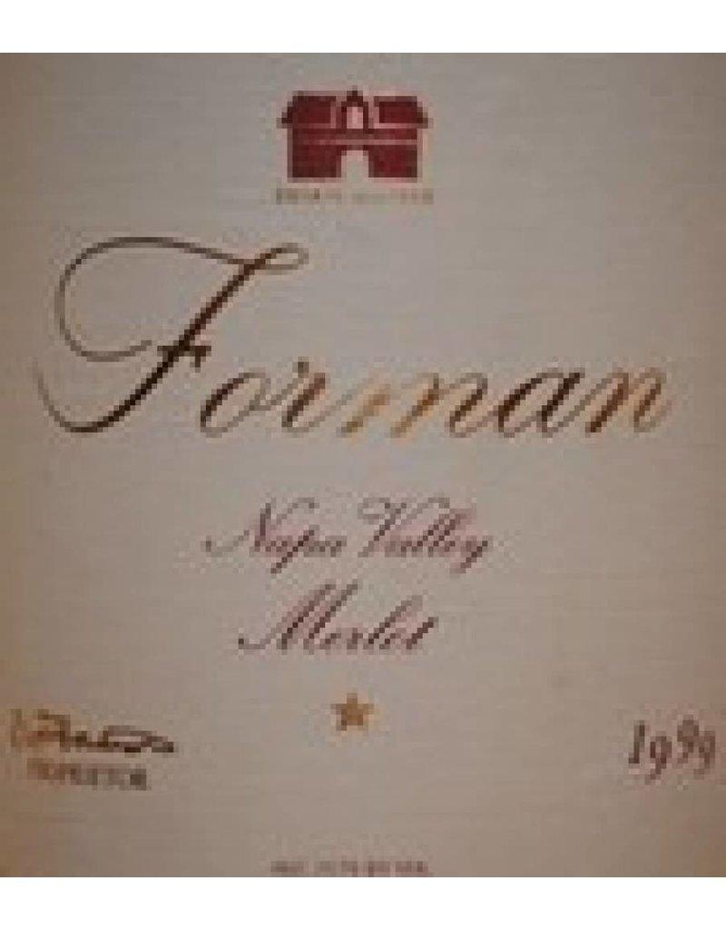 Forman 1999 Forman Merlot