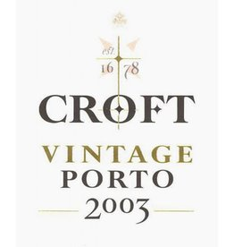 Croft 2003 Croft 375ml