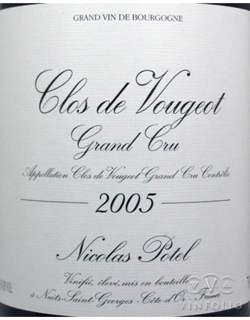 Nicolas Potel 2005 Nicolas Potel Clos Vougeot