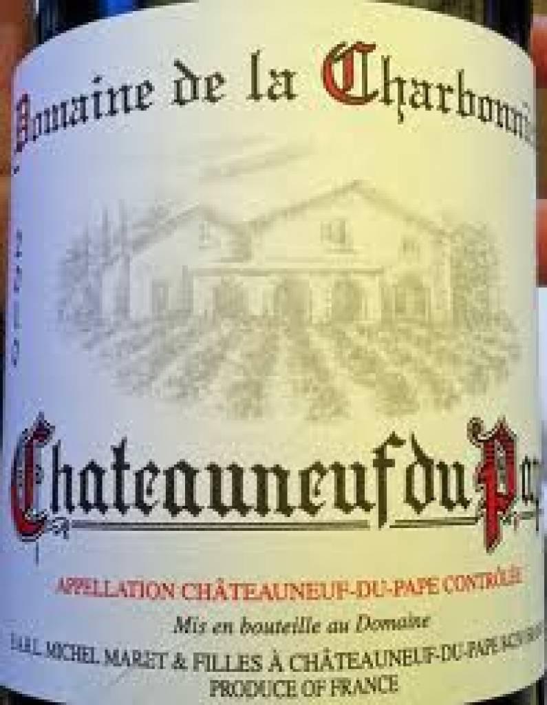 2010 Domaine Charbonniere Chateauneuf du Pape