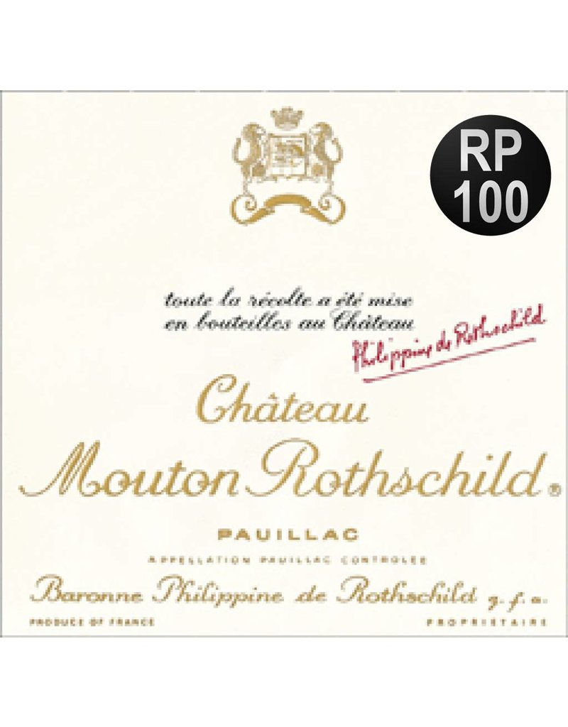 Chateau Mouton Rothschild 1986 Chateau Mouton Rothschild