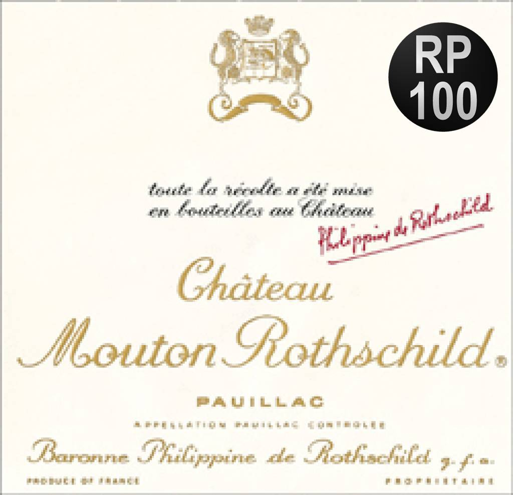 1986 Chateau Mouton Rothschild