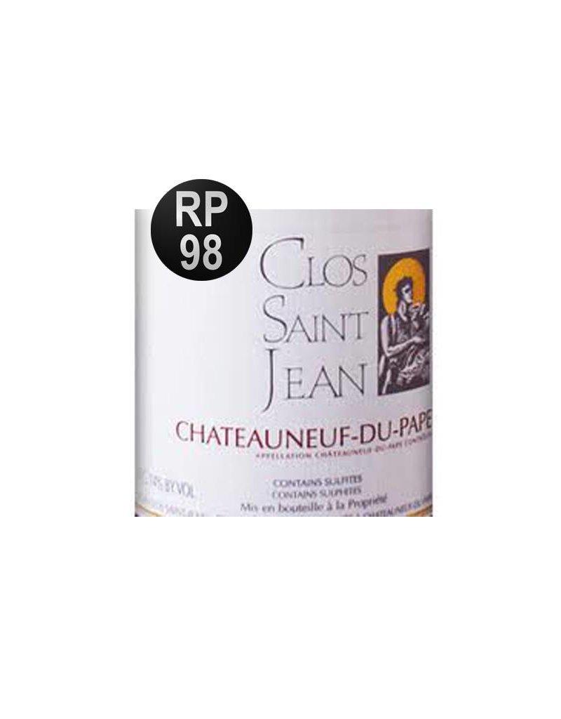 Clos Saint Jean 2009 Clos Saint-Jean Chateauneuf-du-Pape Double Magnum