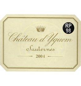 Chateau d 'Yquem 2004 Chateau d Yquem 375ml fles