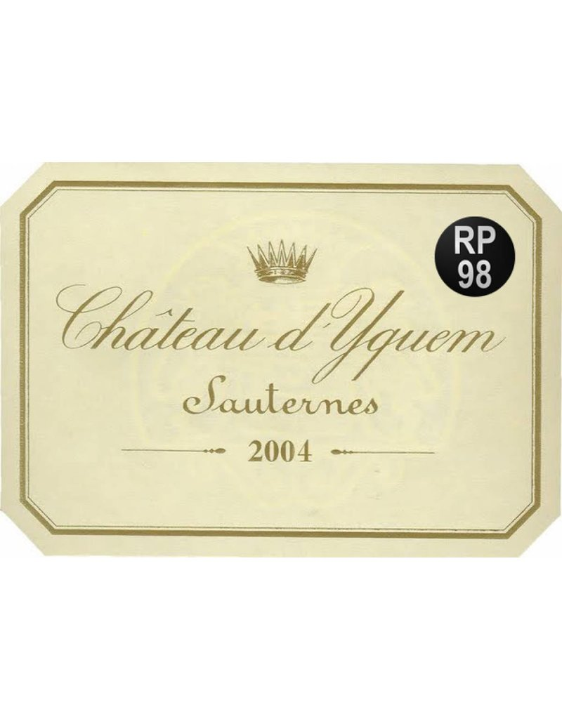 Chateau d 'Yquem 2004 Chateau d 'Yquem 1/2 fles