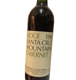 1995 Ridge Cabernet Sauvignon Santa Cruz