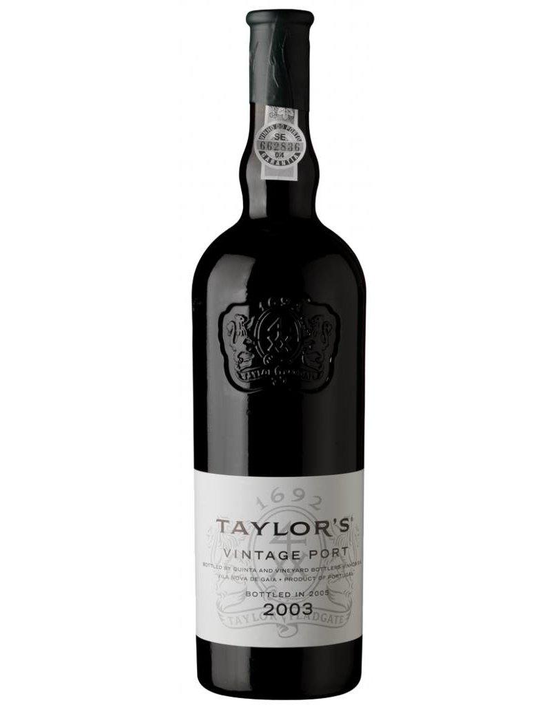 Taylors 2003 Taylor's