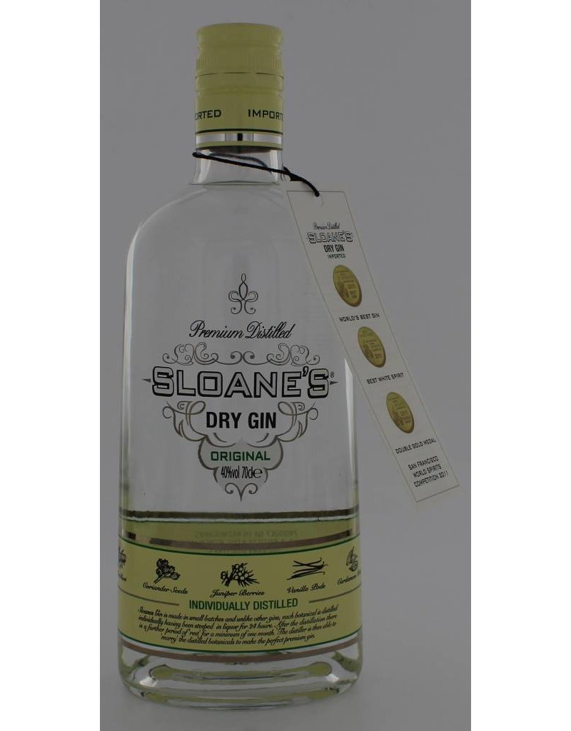 Sloanes Sloanes Dry Gin 700ml 40,0% Alcohol